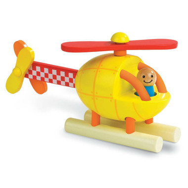 Janod Magnetic Wooden Helicopter