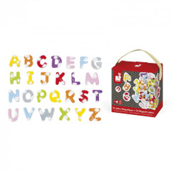 Janod 52 Splash Magnetic Alphabet Letters
