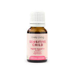 Lively Living Sensitive Child Organic Essential Oil 15ml
