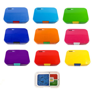 Munchbox Mini4 Lunchbox in 9 colours and inner tray