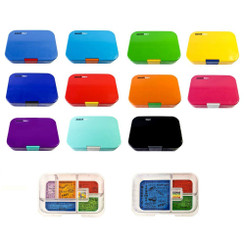 Munchbox Mix and Match Lunchbox in 11 colours with two interchangeable trays