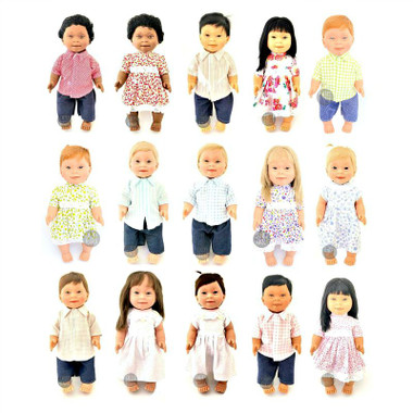 Belonil Baby Doll with Down Syndrome assorted designs