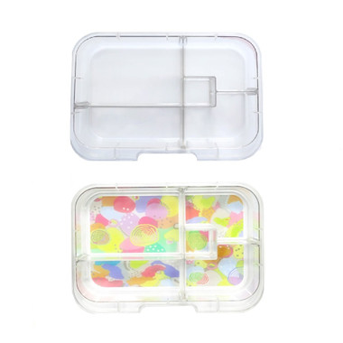 Munchbox Midi5 Clear and Pastel Trays (each sold separately)