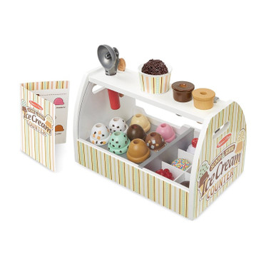 Melissa & Doug Scoop & Serve Ice Cream Counter