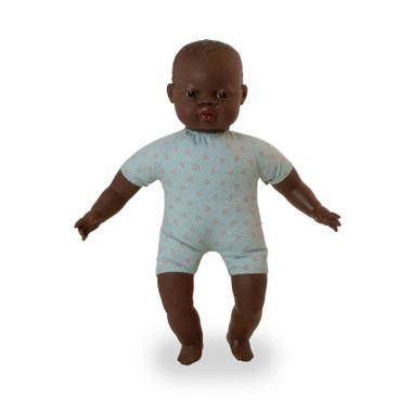 Miniland Soft Bodied African Doll 40cm New look