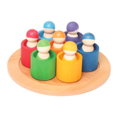 Grimm's 7 Rainbow Friends in Bowls
