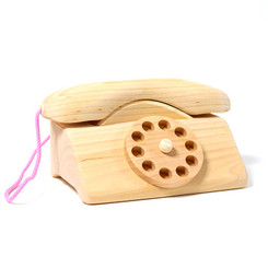 Grimm's Wooden Telephone with Bell
