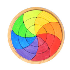 Grimm's Large Colour Circle Goethe Puzzle