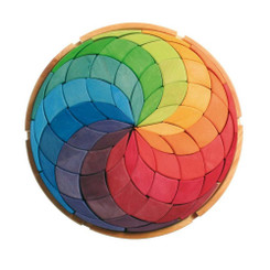 Grimm's Large Colour Circle Spiral Puzzle