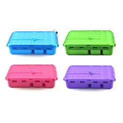 Go Green Snack Box - Green, Pink, Blue and Purple colours
