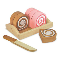 I'm Toy Swiss Roll with slices