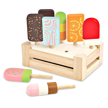 I'm Toy Ice Cream Bar Set with stand and crate