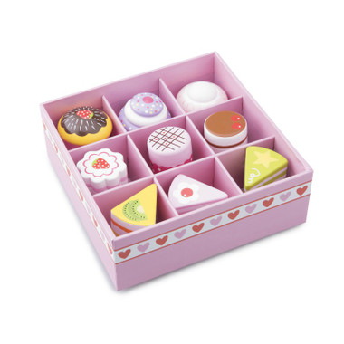 New Classic Toys Petit Four Cake Set with box