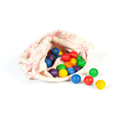 Grapat Rainbow Wooden Marbles