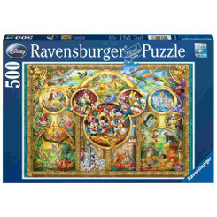 Ravensburger Disney Family Puzzle 500pcs packaging