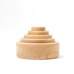 Grimm's Natural Nesting & Stacking Bowls
