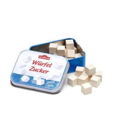 Erzi Sugar Cubes in a Tin