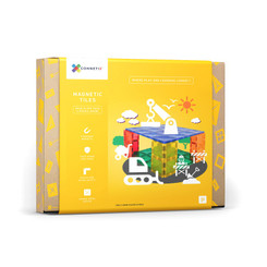Connetix Tiles Base Plate Pack 2pc packaging