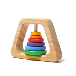 Grimm's Rattle Pyramide Teether