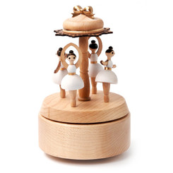 Wooderful Life Ballerina Music Box