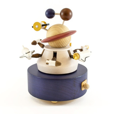 Wooderful Life Up and Down Outer Space Music Box