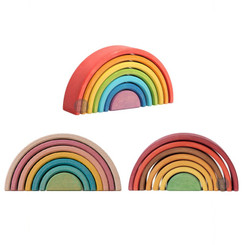Avdar Small Rainbow Stacker - rainbow, fall and pastel (each sold separately)