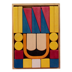 Avdar Nutcracker Block Set 25pc