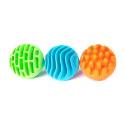 Fat Brain Toys Sensory Rollers - 3 of 6 textures