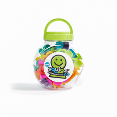 Fat Brain Toys Squigz 2.0 36pc packaging