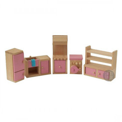 Timbertop Toys Wooden Dollhouse Furniture Kitchen