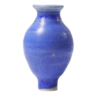 Grimm's Decorative Figure Blue Vase