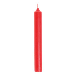 Grimm's Red Beewax Candle