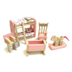 Timbertop Toys Wooden Dollhouse Furniture Kids Room