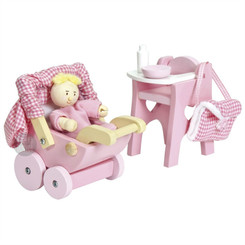 Le Toy Van Daisylane Nursery Accessory Set