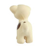 Tikiri Puppy Natural Rubber Teether Rattle & Bath Toy - back