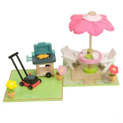Le Toy Van Daisylane Patio and BBQ Set