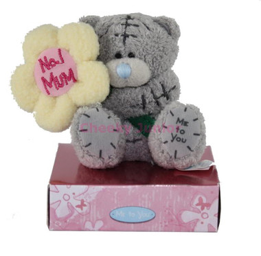 Me To You Tatty Teddy with Yellow Flower 3""