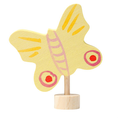 Grimm's Decorative Figure Yellow Butterfly