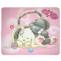 Me To You Tatty Teddy My Blue Nose Friends Polar Fleece Blanket