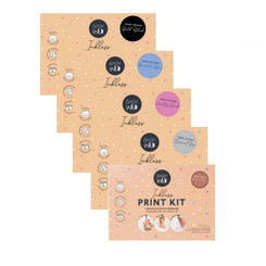 BABYink® Inkless Printing Kit (Flat Kit) in 5 colours and new packaging
