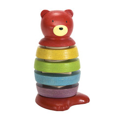 Plan Toys Wooden Stacking Bear