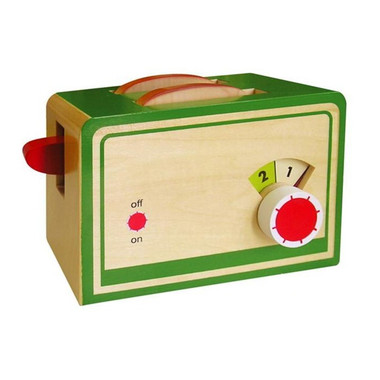 Fun Factory Wooden Toaster with Bread