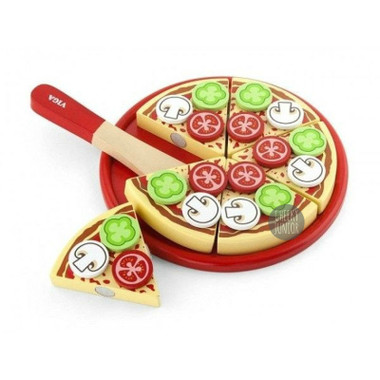 VIGA Wooden Pizza Cutting Set
