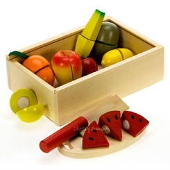 Fun Factory Wooden Fruit Cutting Set