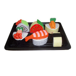 Sparkle T Wooden Sushi Set with Tray