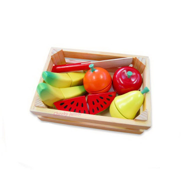 Fun Factory Wooden Fruit Cutting Set in Crate