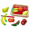 Fun Factory Wooden Fruit Cutting Set in Crate With Knife