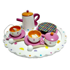 Sparkle T Wooden Spotti Tea Set