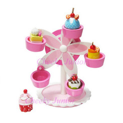 Sparkle T Wooden Cupcake Ferris Wheel