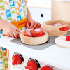 Hape Cook and Serve Set cooking